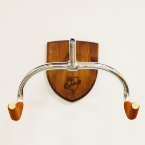Brown Bike Hanger for bicycle wall storage