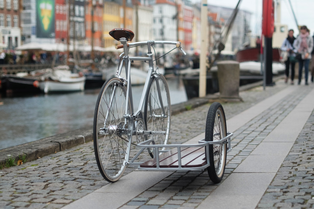 KP Cyclery Sidecar at Nyhavn Copenhagen