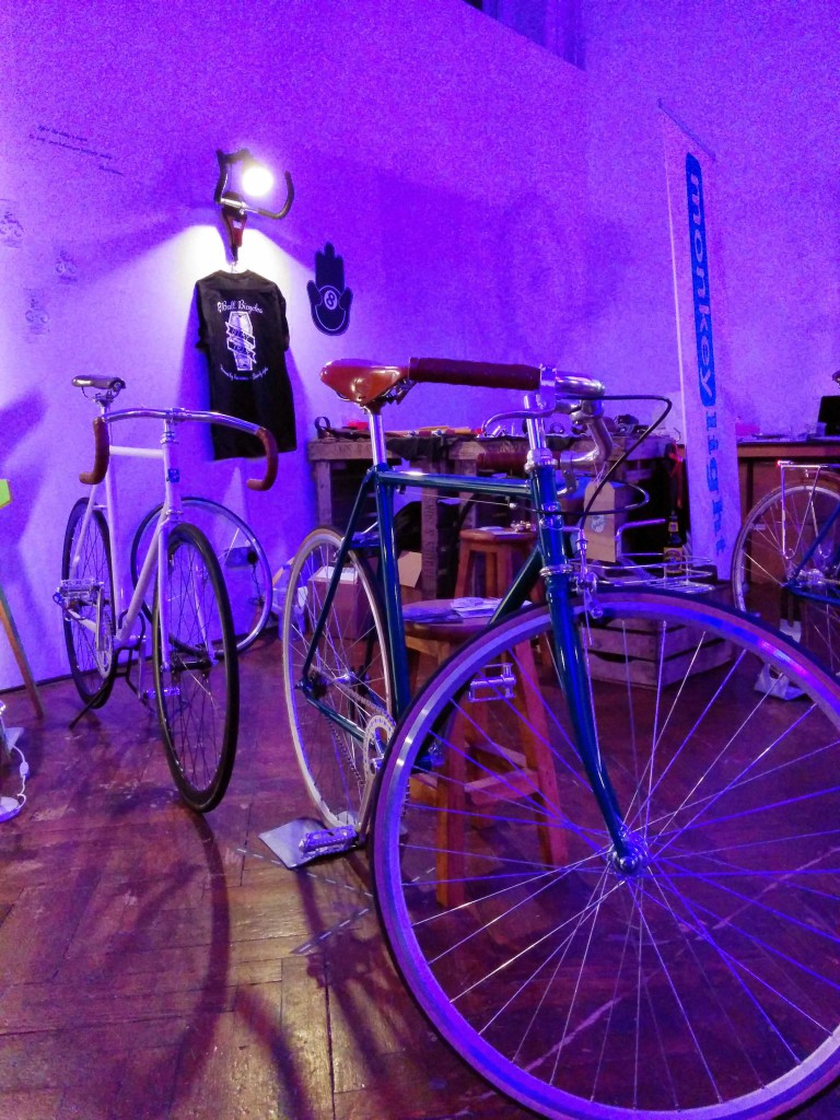KP Cykler at SPIN London Xmas 2014