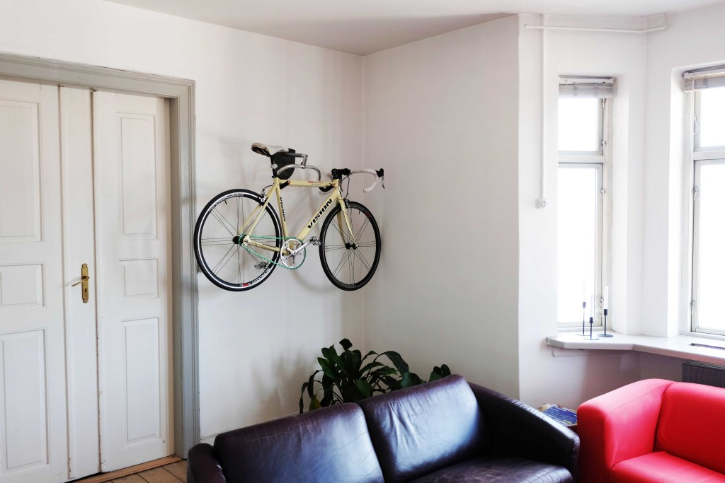 bike wall mount apartment