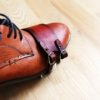 Leather toe straps for bike pedals