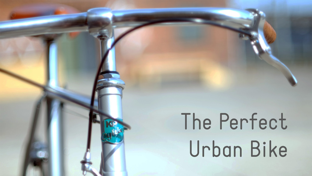 KP Cykler Perfect Urban Bike Kickstarter Cover