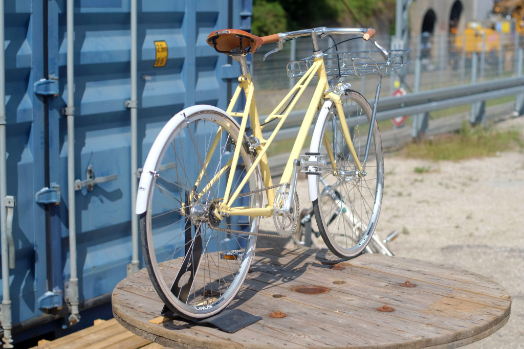 Pastel Yellow Bicycle KP Cykler