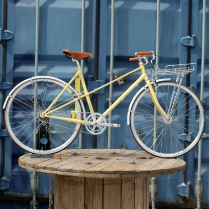 Ladies Bike In Rivera Yellow By KP Cykler
