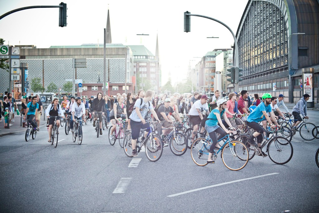 Critical Mass Hamburg 2012