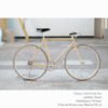 KP Cyclery Bike - California Sun x Porteur Handlebars x Black B17 Brooks