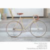 KP Cyclery Bike - California Sun x Drop Handlebars x Brown B17 Brooks