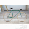 KP Cyclery Bike - Caribbean Teal x Bullhorn Handlebars x Black B17 Brooks