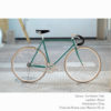 KP Cyclery Bike - Caribbean Teal x Drop Handlebars x Black B17 Brooks