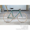 KP Cyclery Bike - Caribbean Teal x Porteur Handlebars x Black B17 Brooks
