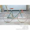 KP Cyclery Bike - Caribbean Teal x Drop Handlebars x Brown B17 Brooks