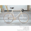 KP Cyclery Bike - Copenhagen Cream x Drop Handlebars x Black B17 Brooks
