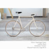 KP Cyclery Bike - Copenhagen Cream x Porteur Handlebars x Black B17 Brooks