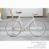 KP Cyclery Bike - Copenhagen Cream x Bullhorn Handlebars x Brown B17 Brooks