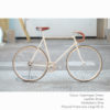 KP Cyclery Bike - Copenhagen Cream x Drop Handlebars x Brown B17 Brooks