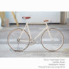 KP Cyclery Bike - Copenhagen Cream x Porteur Handlebars x Brown B17 Brooks