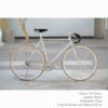 KP Cyclery Bike - Jet Silver x Drop Handlebars x Black B17 Brooks