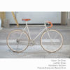 KP Cyclery Bike - Jet Silver x Drop Handlebars x Brown B17 Brooks