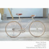 KP Cyclery Bike - Jet Silver x Porteur Handlebars x Brown B17 Brooks