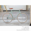 KP Cyclery Bike - Laguna Blue x Bullhorn Handlebars x Brown B17 Brooks