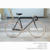 KP Cyclery Bike - Panthera Black x Drop Handlebars x Black B17 Brooks