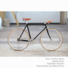 KP Cyclery Bike - Panthera Black x Bullhorn Handlebars x Brown B17 Brooks