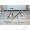 KP Cyclery Bike - Panthera Black x Drop Handlebars x Brown B17 Brooks