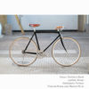 KP Cyclery Bike - Panthera Black x Porteur Handlebars x Brown B17 Brooks