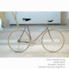 KP Cyclery Bike - Sharkskin Gray x Bullhorn Handlebars x Black B17 Brooks