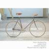 KP Cyclery Bike - Sharkskin Gray x Bullhorn Handlebars x Brown B17 Brooks