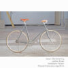 KP Cyclery Bike - Sharkskin Gray x Porteur Handlebars x Brown B17 Brooks