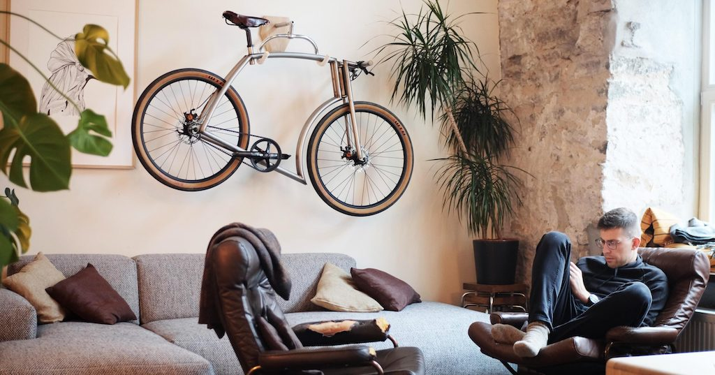 The Bike Hanger Bicycle Storage System for Interior Design